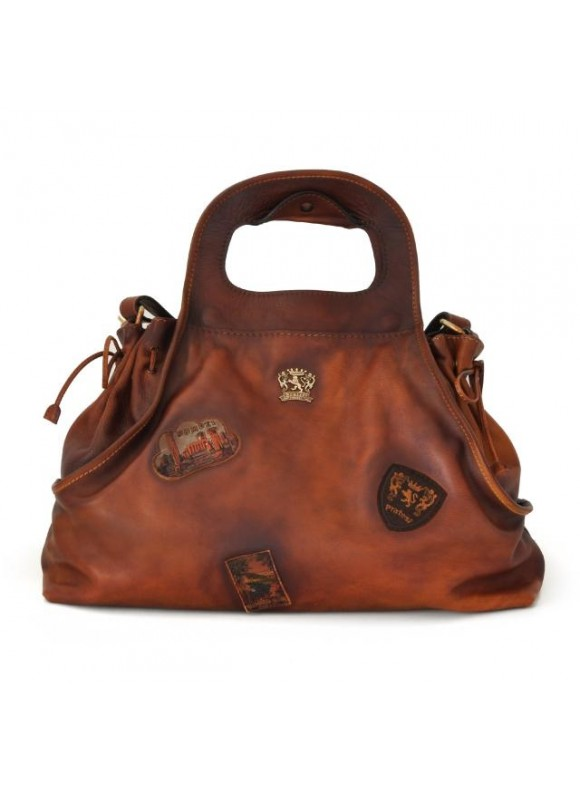 Pratesi Handbag Gaiole in cow leather - Bruce Brown