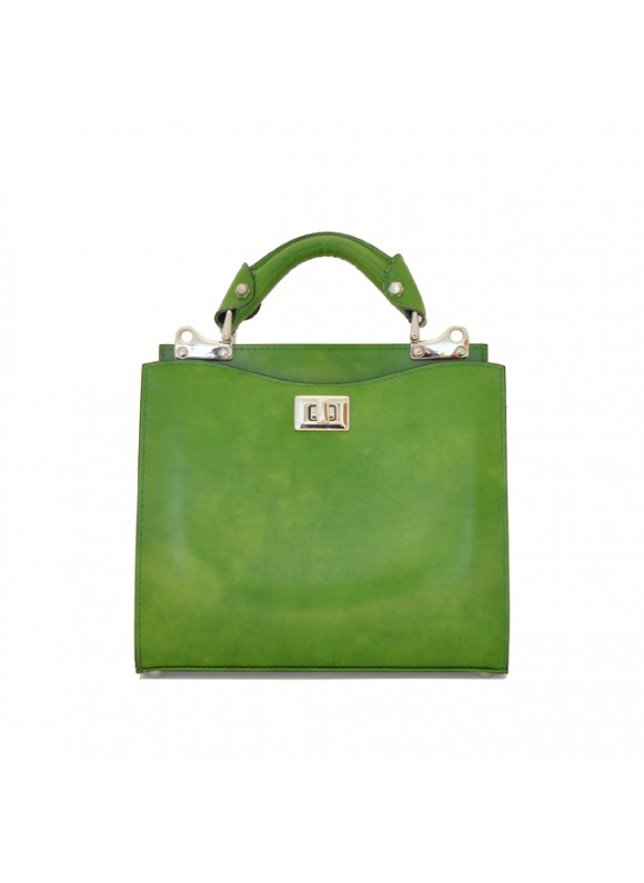 'Pratesi Anna Maria Luisa de'' Medici Small Lady Bag in cow leather - Radica Green'