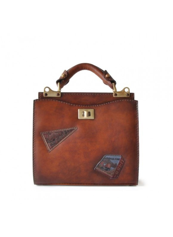 'Pratesi Lady Bag Anna Maria Luisa de'' Medici Small in cow leather - Bruce Brown'