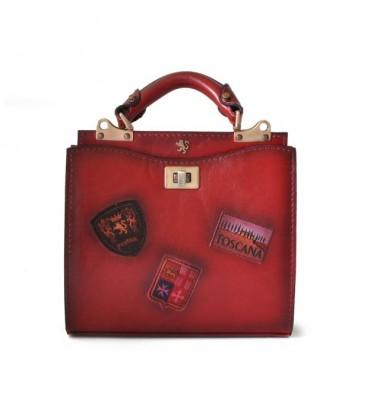 'Pratesi Lady Bag Anna Maria Luisa de'' Medici Small in cow leather - Bruce Chianti'