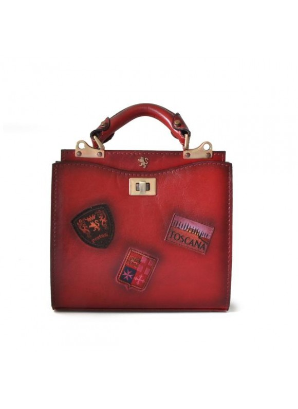 'Pratesi Lady Bag Anna Maria Luisa de'' Medici Small in cow leather - Bruce Chianti'