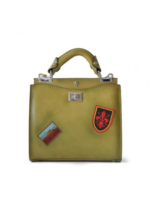 'Pratesi Lady Bag Anna Maria Luisa de'' Medici Small in cow leather - Bruce Green'