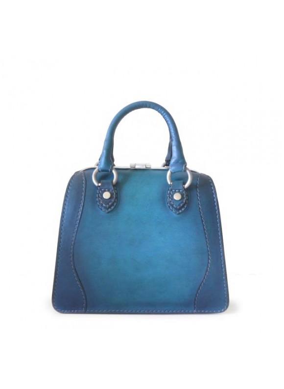 Pratesi Saturnia Small B Woman Bag - Bruce Blue