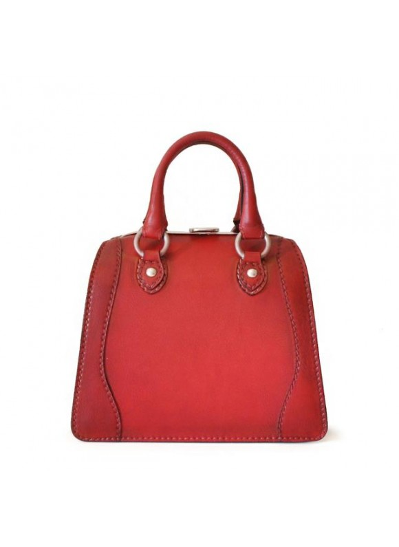 Pratesi Saturnia Small B Woman Bag - Bruce Cherry