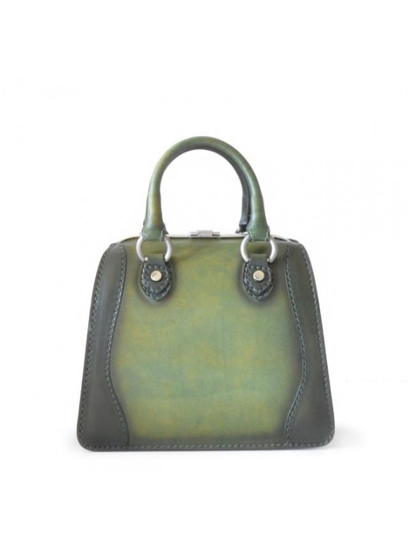 Pratesi Saturnia Small B Woman Bag - Bruce Dark Green
