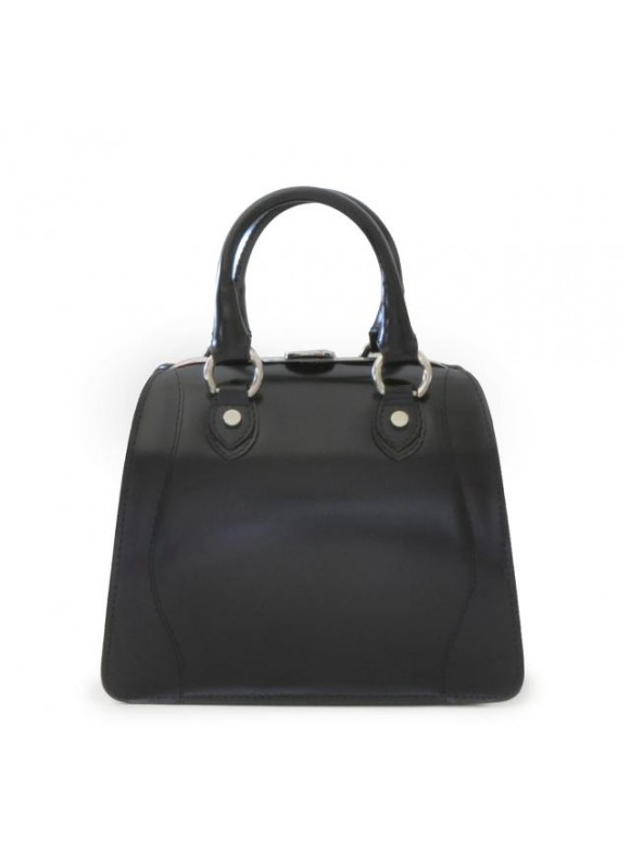 Pratesi Saturnia Small Woman Bag in cow leather - Radica Black