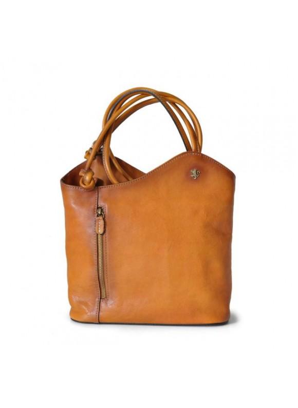 Pratesi Consuma Shoulder Bag in cow leather - Bruce Cognac