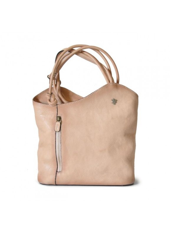 Pratesi Consuma Shoulder Bag in cow leather - Bruce Panna