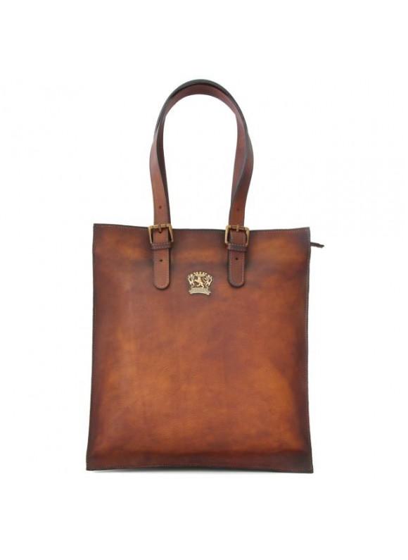 Pratesi Tote Bag Bibbiena in cow leather - Bruce Brown
