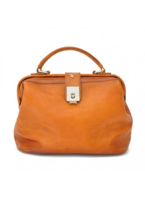 Pratesi Certaldo Bag in cow leather - Bruce Cognac