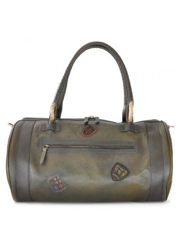 Pratesi Travel Bag Nordkapp in cow leather - Bruce Dark Green
