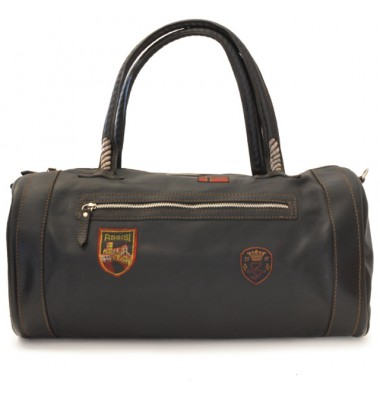 Pratesi Travel Bag Nordkapp in cow leather - Bruce Black