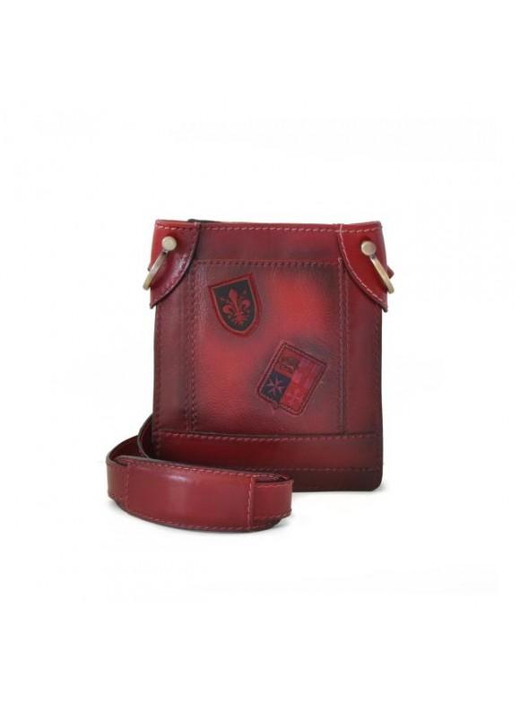 Pratesi Bakem Small Bag in cow leather - Bruce Chianti