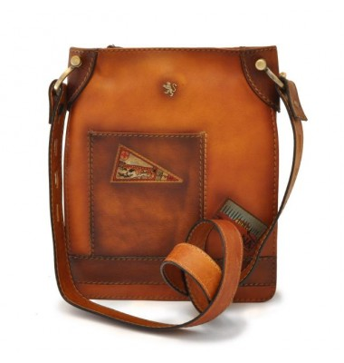 Pratesi Bakem Medium Bag in cow leather - Bruce Cognac