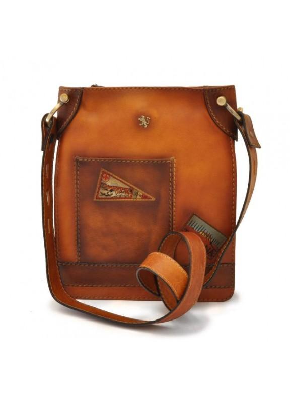 Pratesi Bakem Medium Bag in cow leather - Bruce Cognac