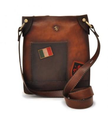 Pratesi Bakem Medium Bag in cow leather - Bruce Brown