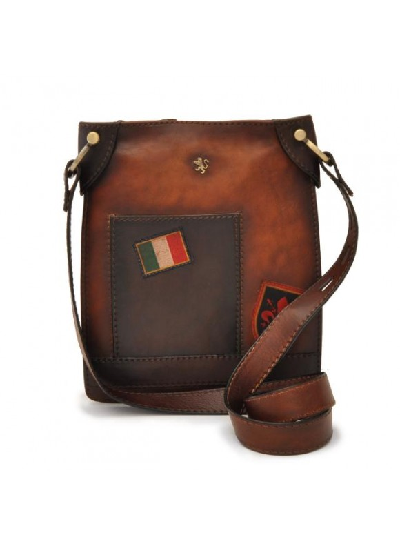 Pratesi Bakem Medium Bag in cow leather - Bruce Brown