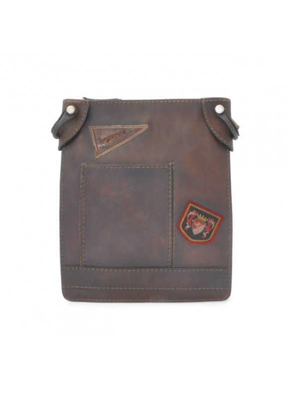 Pratesi Bakem Medium Bag in cow leather - Bruce Coffee