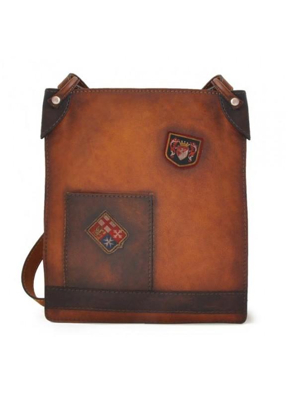 Pratesi Cross-Body Bag Bakem in cow leather - Bruce Brown