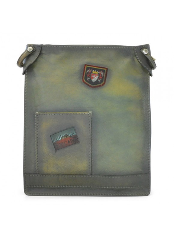Pratesi Cross-Body Bag Bakem in cow leather - Bruce Green