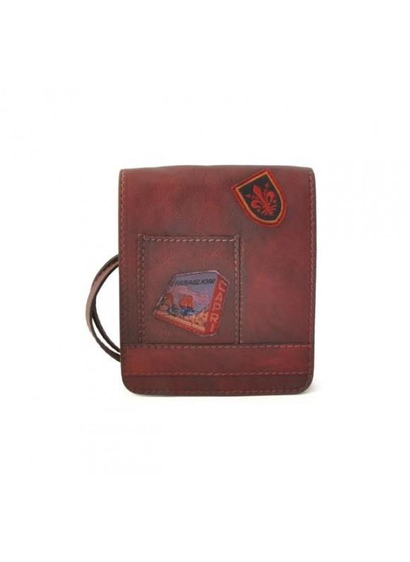 Pratesi Messanger Mini Bag in cow leather - Bruce Chianti