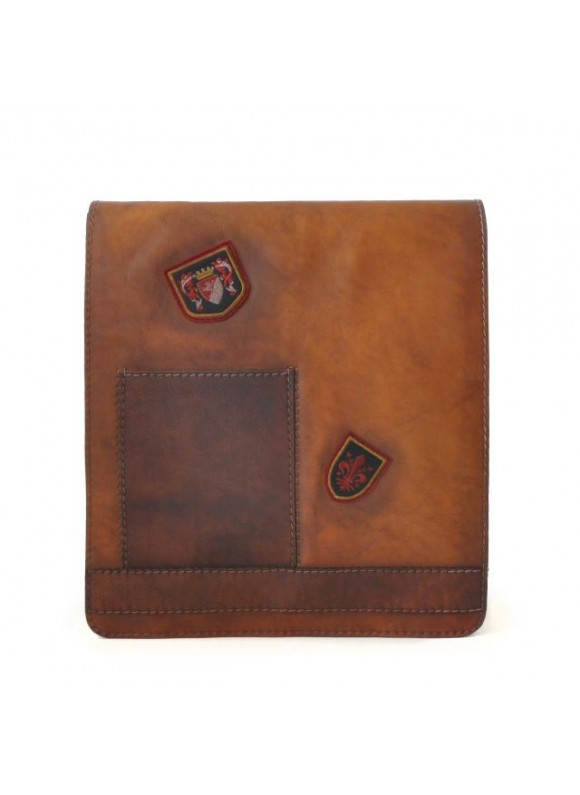 Pratesi Messanger Cross-Body Bag in cow leather - Bruce Brown