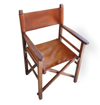 Pratesi Chair Movie director in cow leather