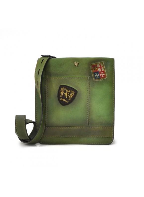 Pratesi Messanger Medium Cross-Body Bag in cow leather - Bruce Green