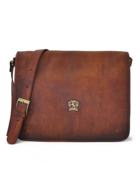 'Pratesi Val D''Orcia Cross Body Bag in cow leather'