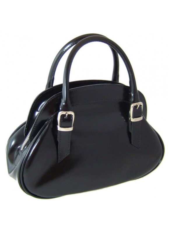 Pratesi Giotto Handbag in cow leather - Radica Black