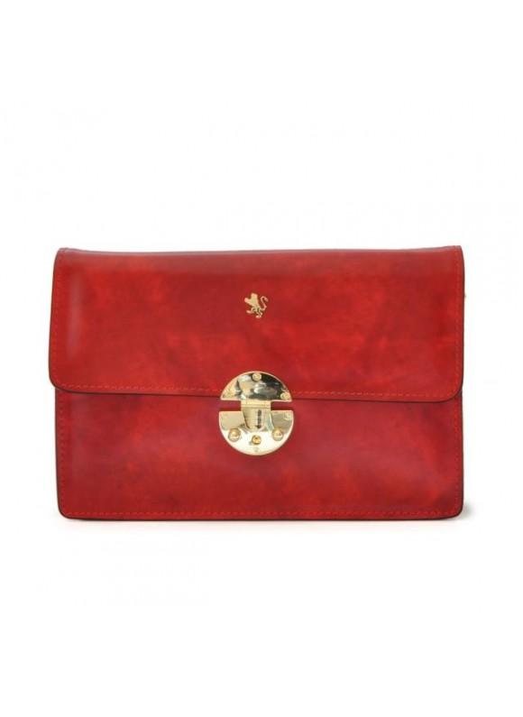 'Pratesi Lucrezia De'' Medici Cross Body-Bag in cow leather - Radica Cherry'