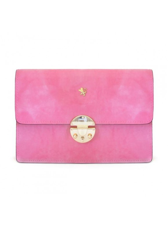 'Pratesi Lucrezia De'' Medici Cross Body-Bag in cow leather - Radica Pink'