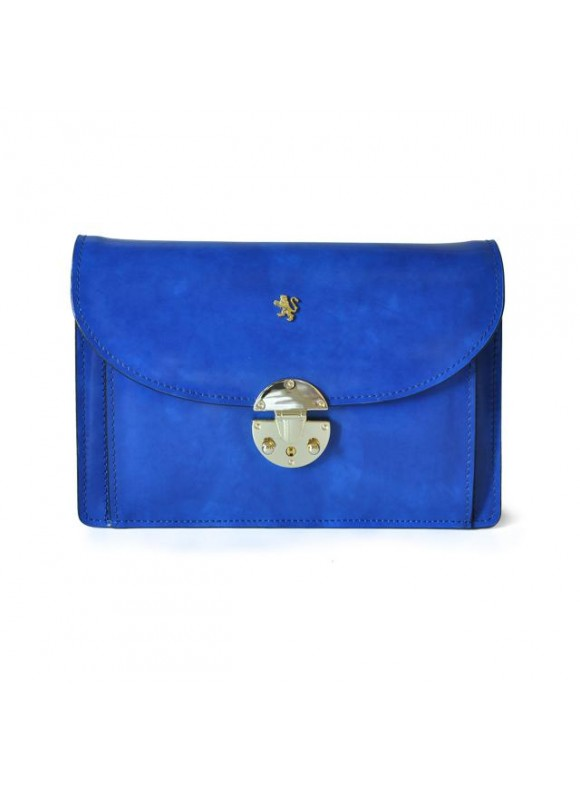 'Pratesi Tullia d''Aragona Lady Bag in cow leather - Radica Electric Blue'