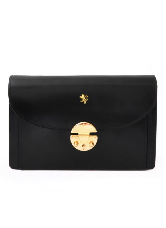 'Pratesi Tullia d''Aragona Lady Bag in cow leather - Radica Black'