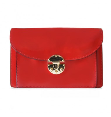 'Pratesi Tullia d''Aragona Lady Bag in cow leather - Radica Cherry'