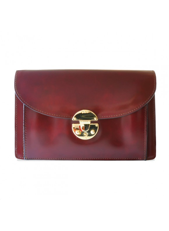 'Pratesi Tullia d''Aragona Lady Bag in cow leather - Radica Chianti'
