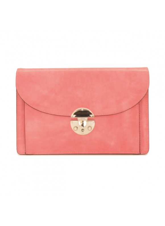'Pratesi Tullia d''Aragona Lady Bag in cow leather - Radica Pink'