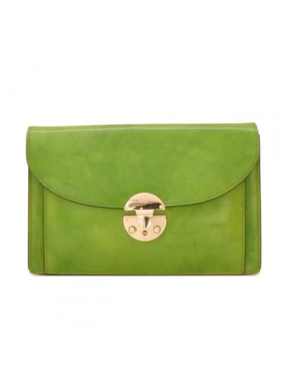 'Pratesi Tullia d''Aragona Lady Bag in cow leather - Radica Green'