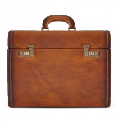 Pratesi Briefcase Ghirlandaio in cow leather - Bruce Brown