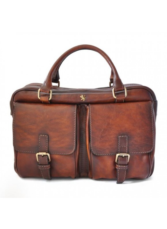Pratesi Briefcase Montalcino in cow leather - Bruce Brown