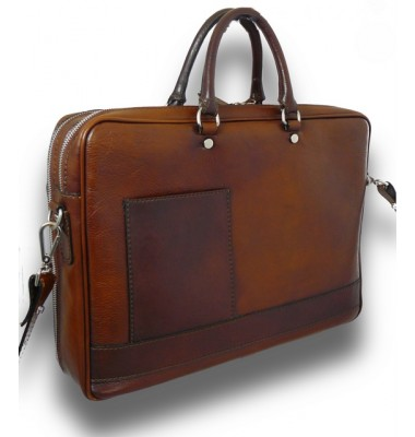 Pratesi Briefcase Cortona in cow leather - Bruce Brown