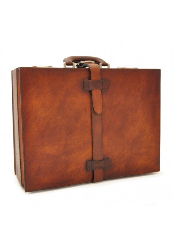 Pratesi Briefcase Taormina in cow leather - Bruce Brown