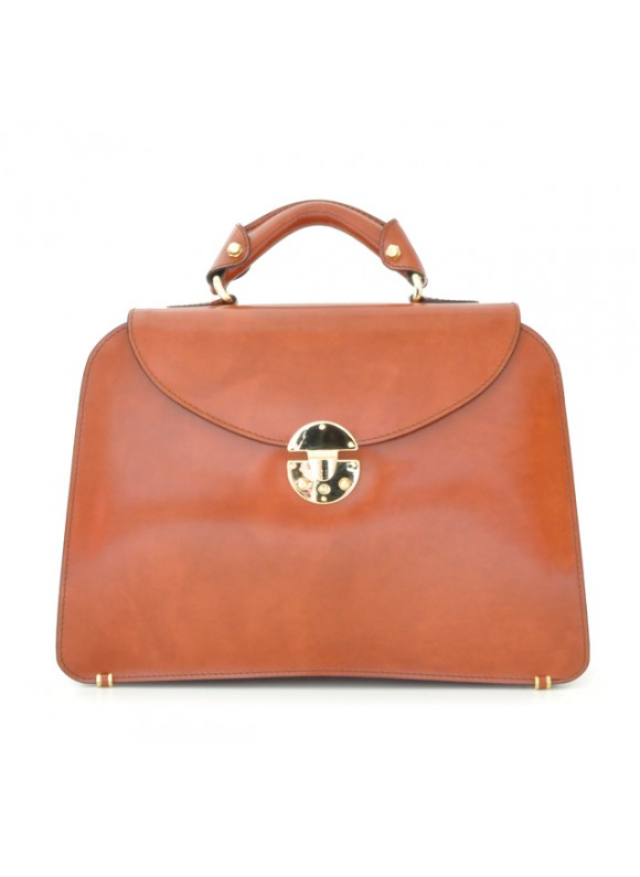 Pratesi Veneziano Lady Bag - Radica Brown