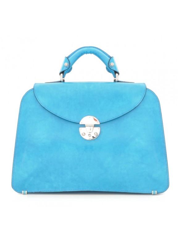 Pratesi Veneziano Lady Bag - Radica Sky Blue