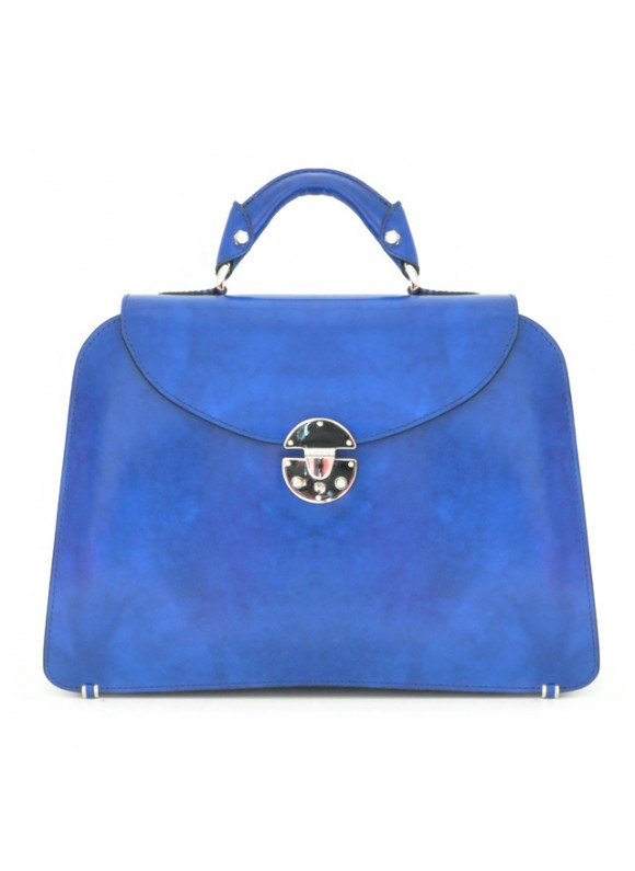 Pratesi Veneziano Lady Bag - Radica Electric Blue