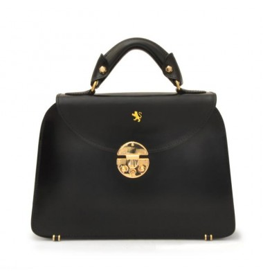 Pratesi Veneziano Small Lady Bag in cow leather - Radica Black