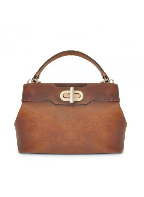Pratesi Woman Bag Panzano in cow leather - Bruce Brown