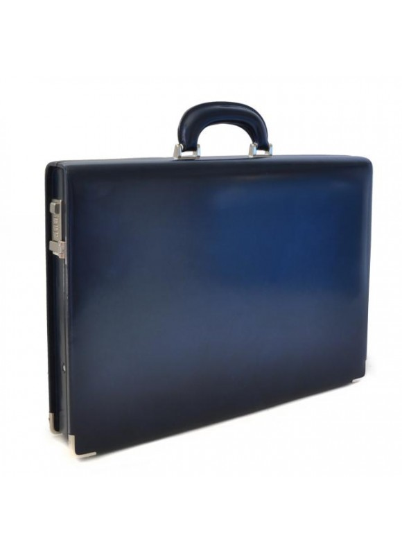 Pratesi Machiavelli Slim Attach Case in cow leather - Radica Blue
