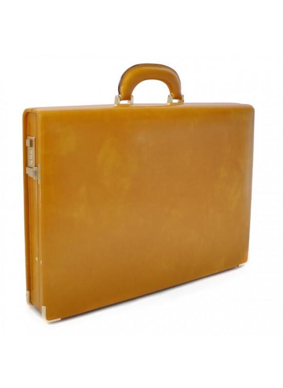 Pratesi Machiavelli Slim Attach Case in cow leather - Radica Mustard