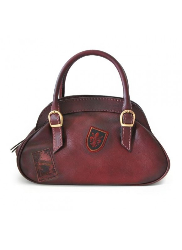 Pratesi Handbag Giotto in cow leather - Bruce Chianti